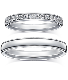 LYRIC≪8/13(fri)発売≫ リリック<br>【銀座本店限定】 404,800 円(税込) 結婚指輪
